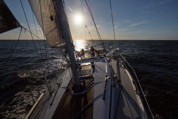 Sonnenaufgang über der Nordsee