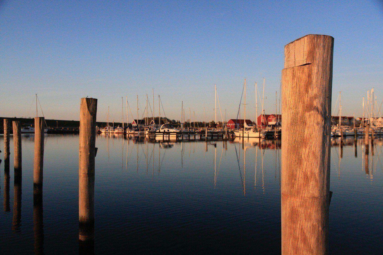 Abendstimmung im Hafen von Rudkøbing