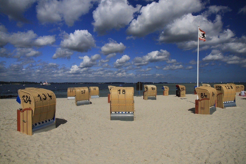Strandstühle in Kiel