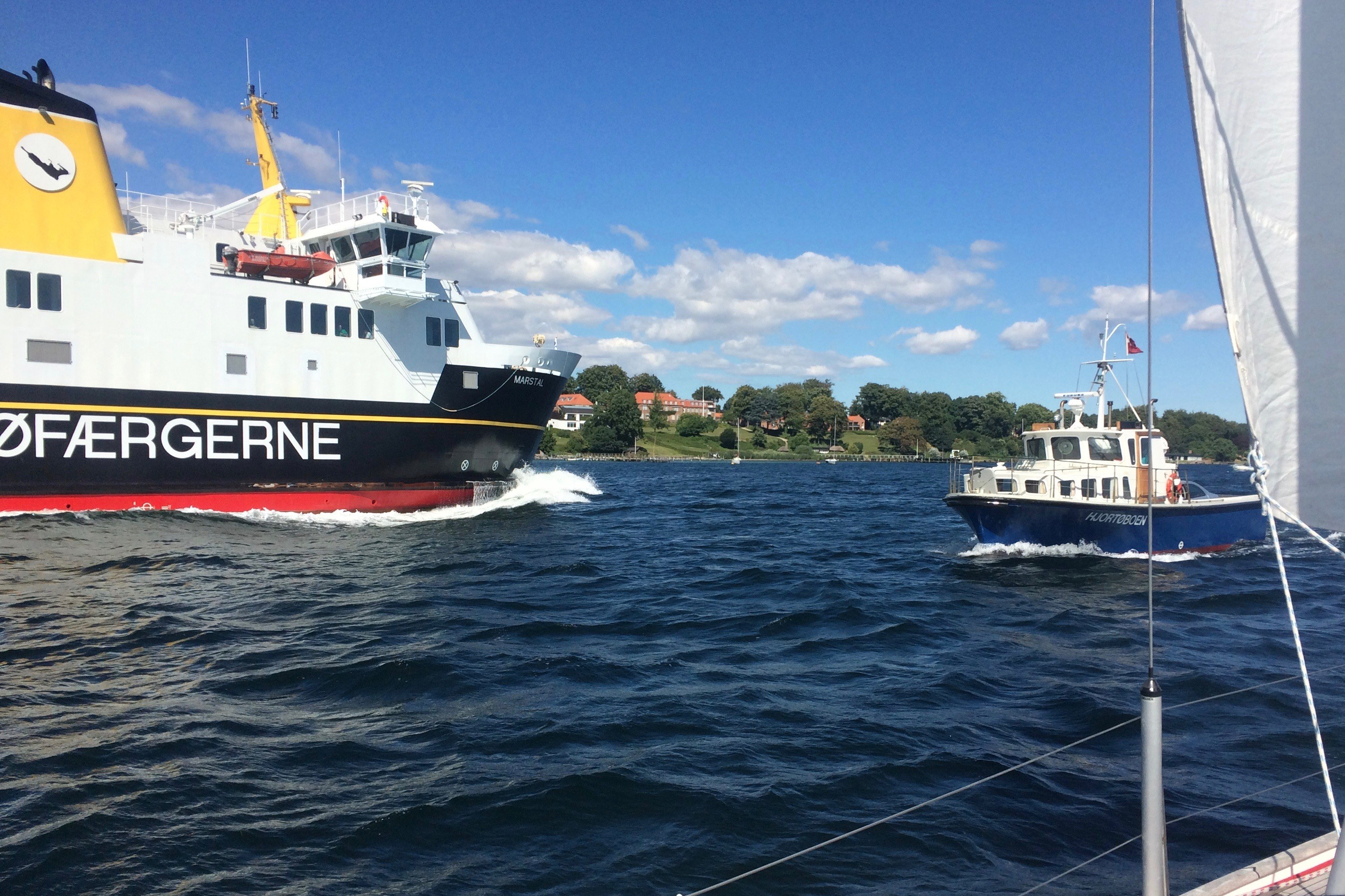 Insel Berufsschifffahrt