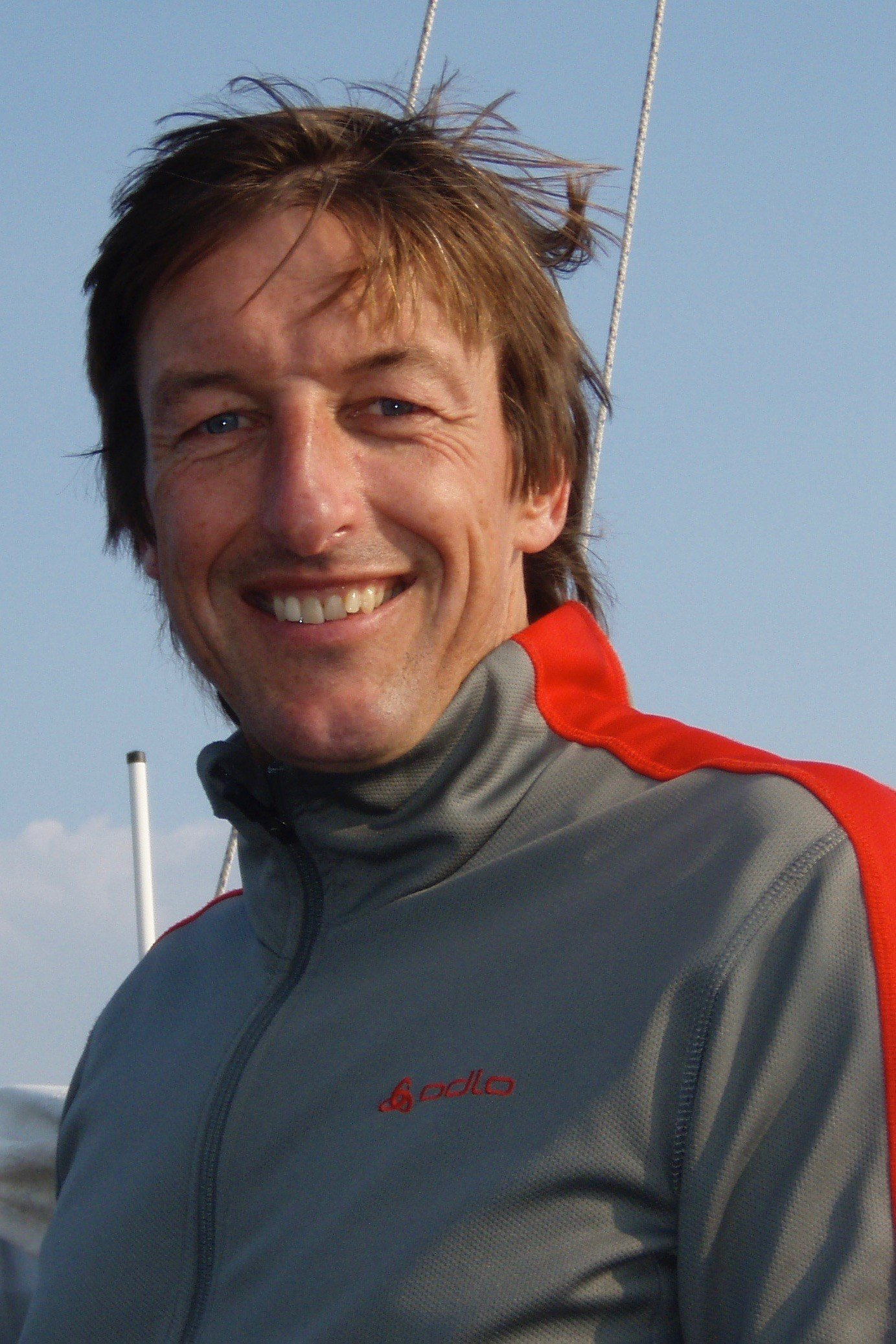 Instructor und Principal Felix Galliker bei SAFE-Sailing